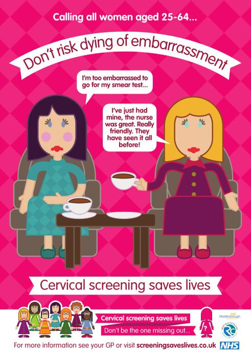 Cervical Screening Poster